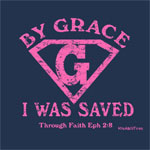 By Grace I Was Saved